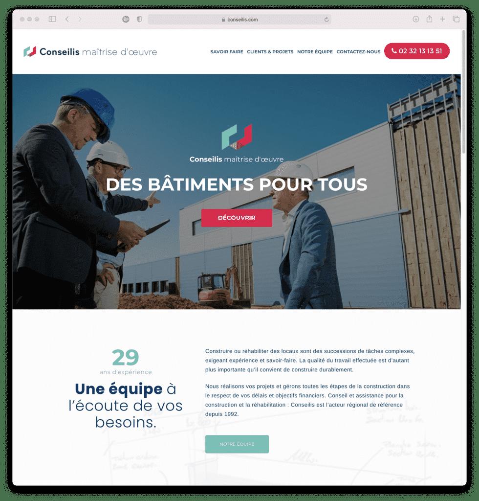 Conseilis Cléon, maîtrise d'oeuvre, réalisation Agence IDEO