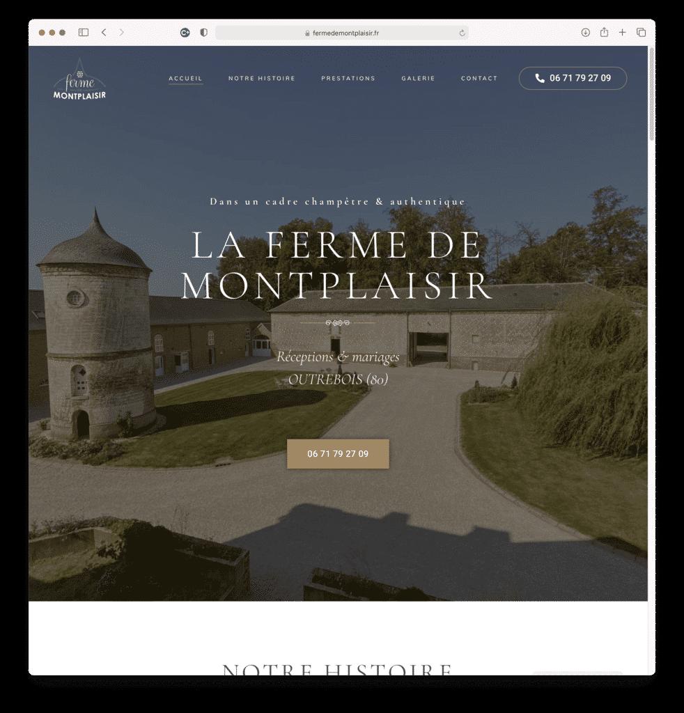Ferme de Montplaisir, réceptions et mariages à OUTREBOIS (80), réalisation Agence IDEO
