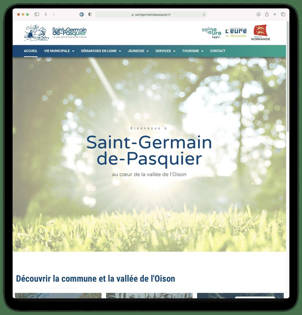 Mairie de Saint Germain de Pasquier - Réalisation Agence IDEO
